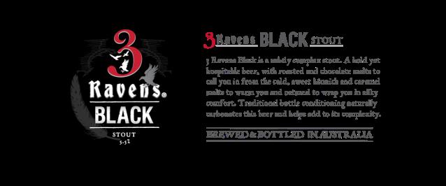 3Ravens Black beer