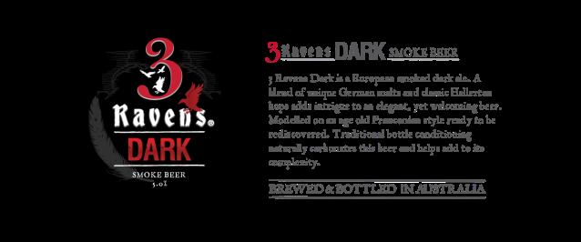 3Ravens Dark beer