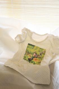 Tishtashy tshirt with image patch