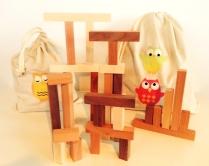 Timber Arcacia building blocks