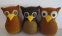 Make it Wednesday's three brown owls
