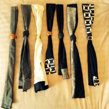 RAT- recycled fabric neckties