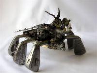 Rusty Sculptures Roach 1a