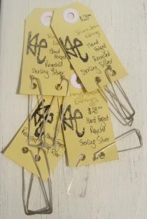 Triangulation Hoops w tags