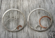 Circulation Earrings 7 WM