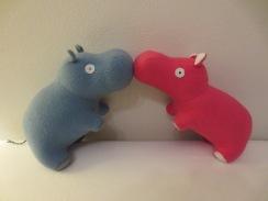 Make it Wednesday's happy hippos