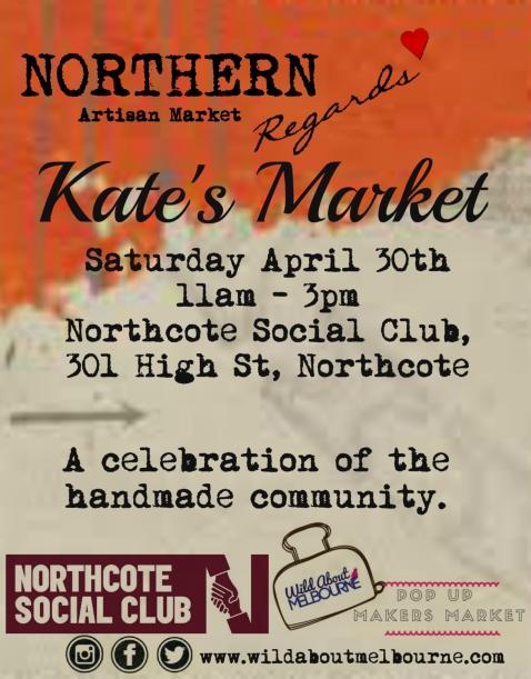 Kate's Market flier